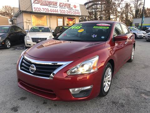 2013 Nissan Altima for sale at Craven Cars in Louisville KY