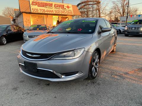 2015 Chrysler 200 for sale at Craven Cars in Louisville KY