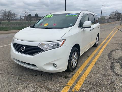 2013 Nissan Quest for sale at Craven Cars in Louisville KY