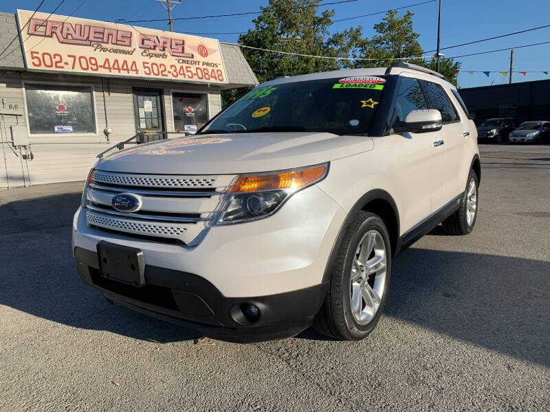 2013 Ford Explorer for sale at Craven Cars in Louisville KY
