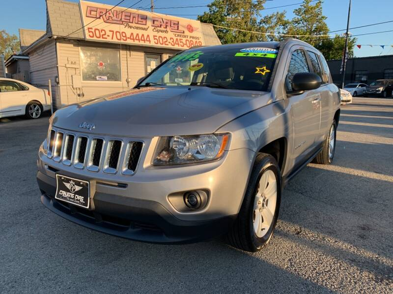 2016 Jeep Compass for sale at Craven Cars in Louisville KY