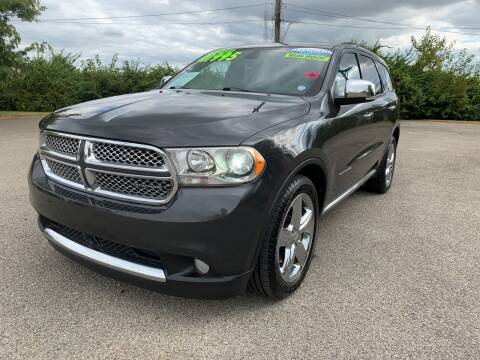 2011 Dodge Durango for sale at Craven Cars in Louisville KY