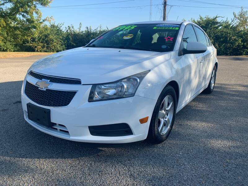 2013 Chevrolet Cruze for sale at Craven Cars in Louisville KY