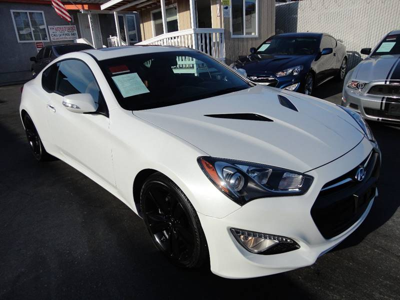 2013 Hyundai Genesis Coupe 3.8 Grand Touring 2dr Coupe   Spring Valley CA