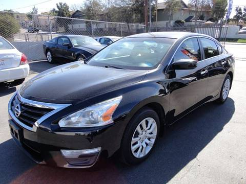 2014 Nissan Altima for sale at AutoPlus of San Diego in Spring Valley CA