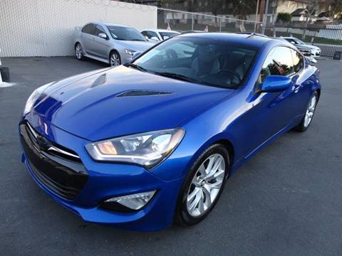 2013 Hyundai Genesis Coupe for sale at AutoPlus of San Diego in Spring Valley CA