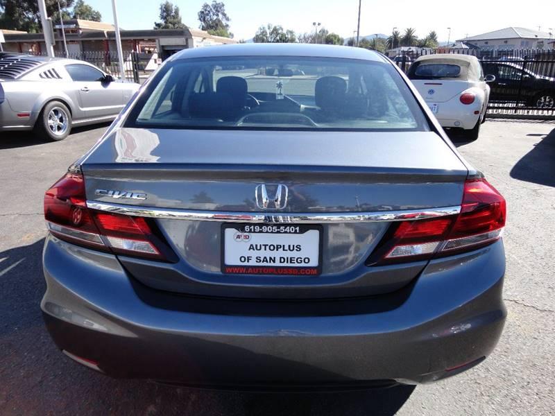 2013 Honda Civic EX 4dr Sedan - Spring Valley CA