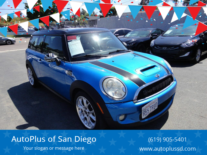 2010 MINI Cooper Clubman S 3dr Wagon - Spring Valley CA