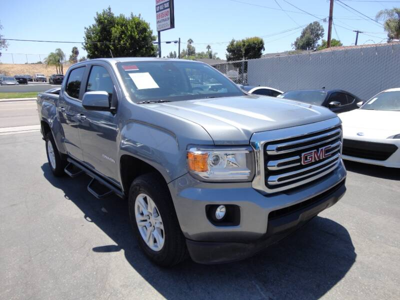 2019 GMC Canyon 4x4 SLE 4dr Crew Cab 5 ft. SB - Spring Valley CA