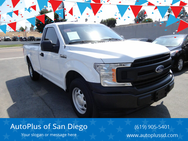 2019 Ford F-150 4x2 XL 2dr Regular Cab 8 ft. LB - Spring Valley CA