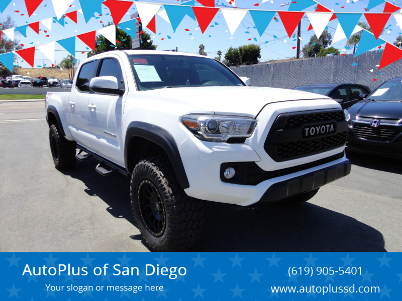 2017 Toyota Tacoma 4x4 TRD Off-Road 4dr Double Cab 6.1 ft LB - Spring Valley CA