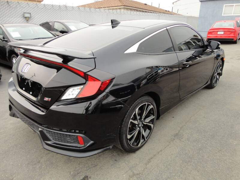 2017 Honda Civic Si 2dr Coupe - Spring Valley CA