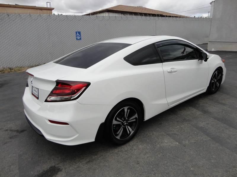 Fresh 2015 Honda Civic Coupe White