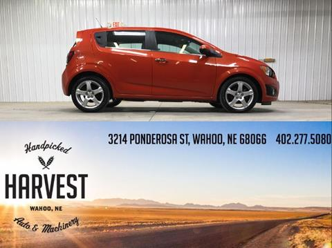 2013 Chevrolet Sonic for sale in Wahoo, NE