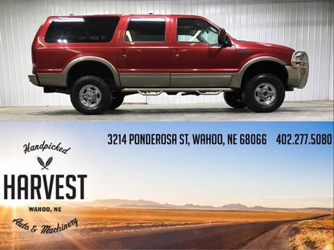 2004 Ford Excursion for sale in Wahoo, NE