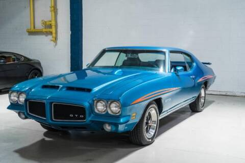 1971 Pontiac GTO for sale at Euro Star Auto Gallery in Cockeysville MD