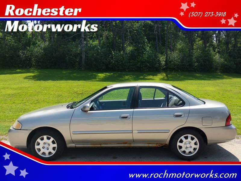 2002 Nissan Sentra GXE 4dr Sedan   Rochester MN