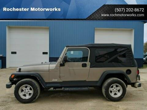 2004 Jeep Wrangler for sale in Rochester, MN