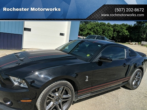2010 Ford Shelby GT500 for sale in Rochester, MN