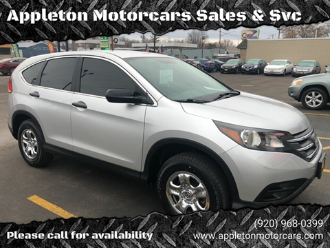 2013 Honda CR-V for sale at Appleton Motorcars Sales & Service in Appleton WI