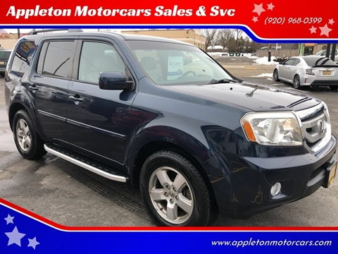 2011 Honda Pilot for sale at Appleton Motorcars Sales & Service in Appleton WI