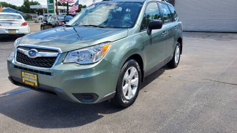 2016 Subaru Forester for sale at Appleton Motorcars Sales & Service in Appleton WI