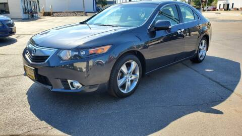 2012 Acura TSX for sale at Appleton Motorcars Sales & Svc in Appleton WI