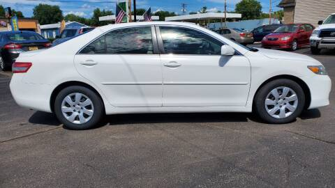 2010 Toyota Camry for sale at Appleton Motorcars Sales & Svc in Appleton WI