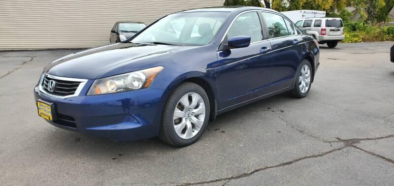 2008 Honda Accord for sale at Appleton Motorcars Sales & Svc in Appleton WI