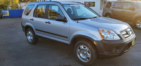 2005 Honda CR-V for sale at Appleton Motorcars Sales & Service in Appleton WI