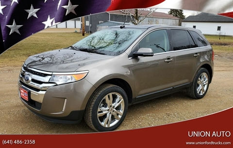 2014 Ford Edge for sale at Union Auto in Union IA