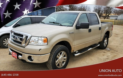 2008 Ford F-150 for sale at Union Auto in Union IA