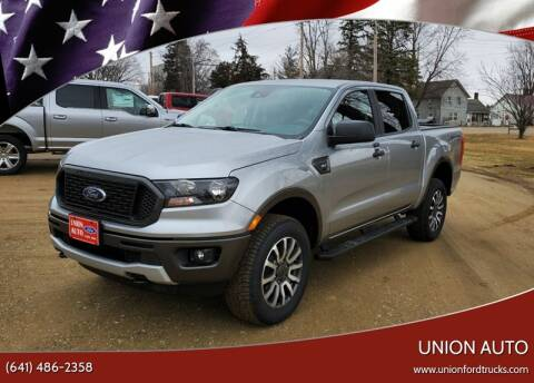 2020 Ford Ranger for sale at Union Auto in Union IA