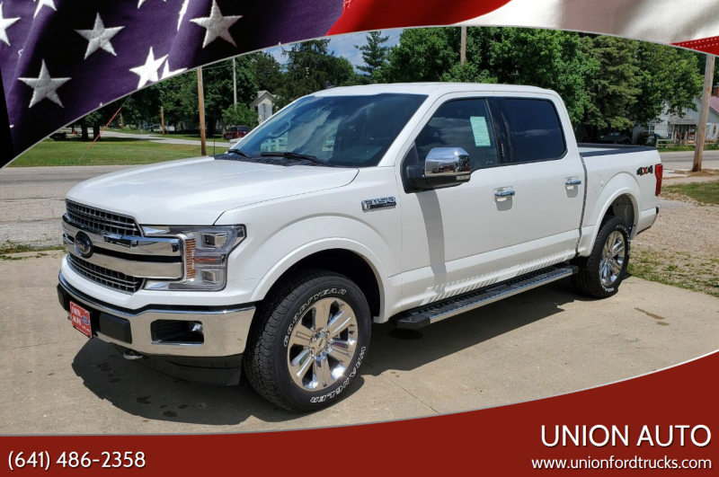 2020 Ford F-150 for sale at Union Auto in Union IA