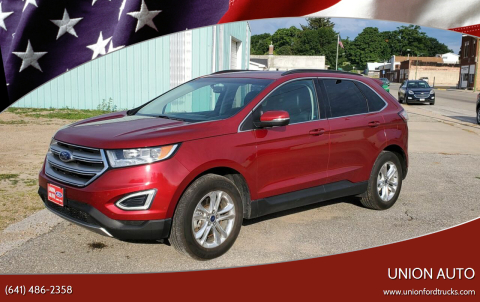 2015 Ford Edge for sale at Union Auto in Union IA