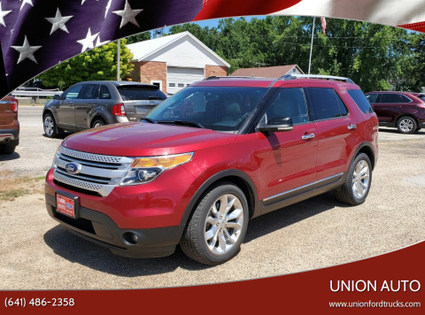 2014 Ford Explorer for sale at Union Auto in Union IA