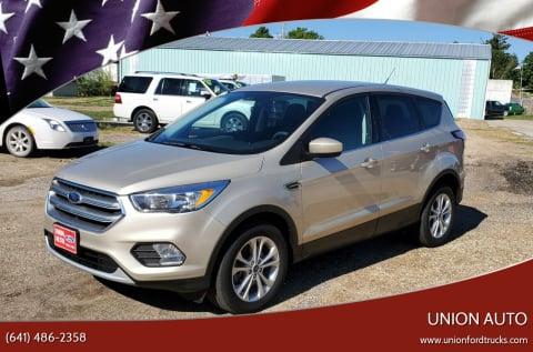 2017 Ford Escape for sale at Union Auto in Union IA