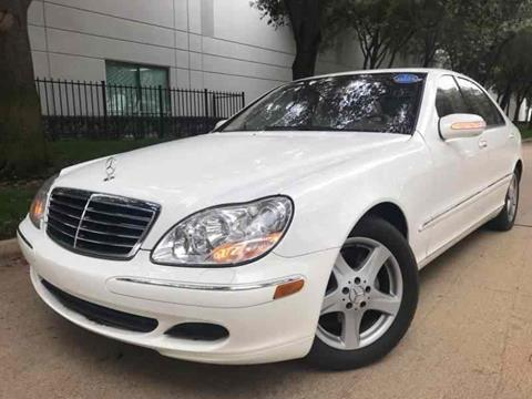 2005 Mercedes-Benz S-Class for sale in Dallas, TX