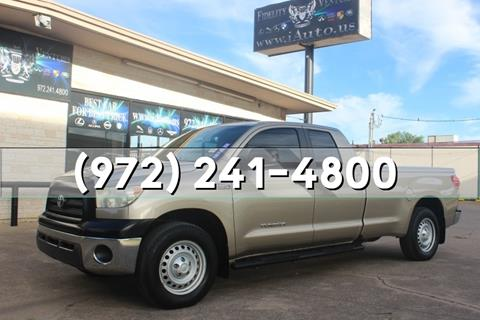 2008 Toyota Tundra for sale in Dallas, TX