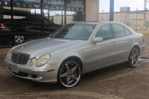 2003 Mercedes-Benz E-Class for sale in Dallas, TX
