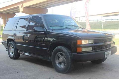 2000 Chevrolet Tahoe Limited/Z71 for sale in Dallas, TX