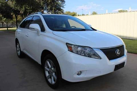 2010 Lexus RX 350 for sale in Dallas, TX