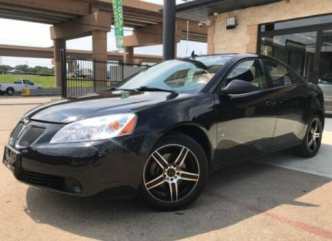 2009 Pontiac G6 for sale in Dallas, TX