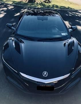 2017 Acura Nsx For Sale >> 2017 Acura Nsx For Sale In Dallas Tx