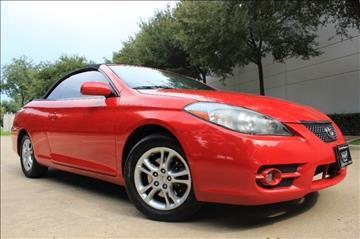 2007 Toyota Camry Solara for sale in Dallas, TX