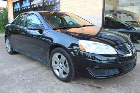 2010 Pontiac G6 for sale in Dallas, TX