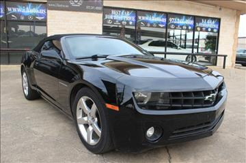 2011 Chevrolet Camaro for sale in Dallas, TX