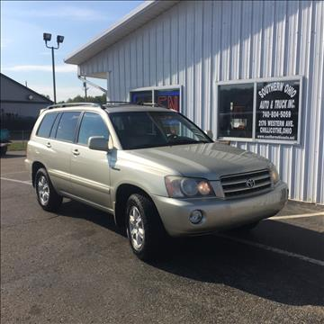 2003 Toyota Highlander for sale in Chillicothe, OH