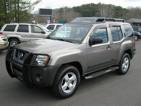 2005 Nissan Xterra for sale at Driven Pre-Owned in Lenoir NC