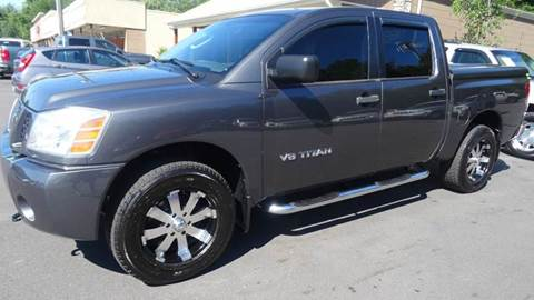 2005 Nissan Titan for sale at Driven Pre-Owned in Lenoir NC